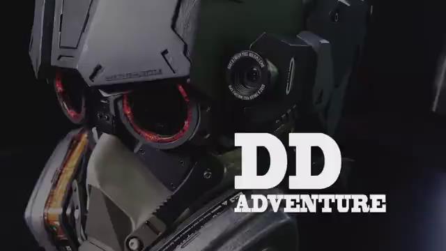 一款1比1打造的高科技头盔,适合军事迷收藏