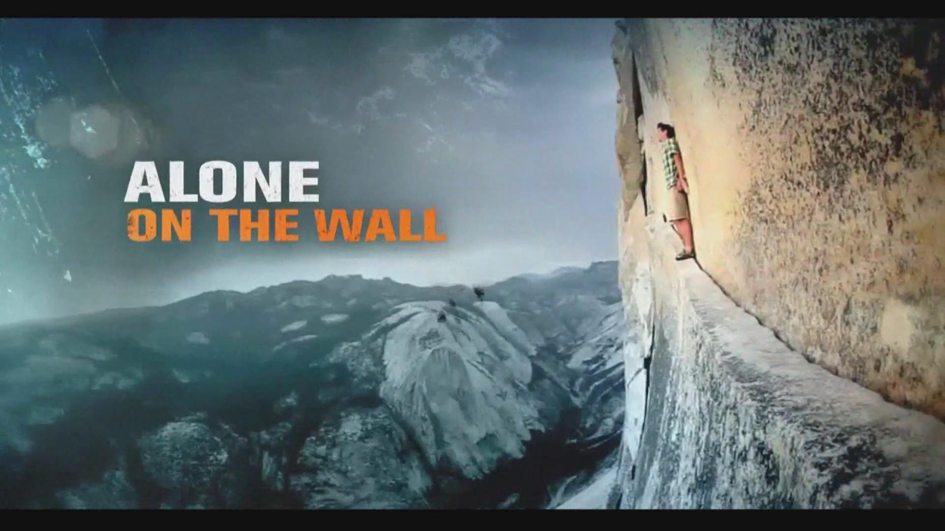 国外精彩徒手攀岩!