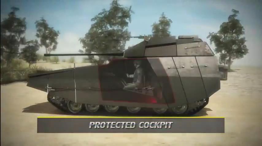 """以色列""""卡梅尔""""未来装甲平台概念"""