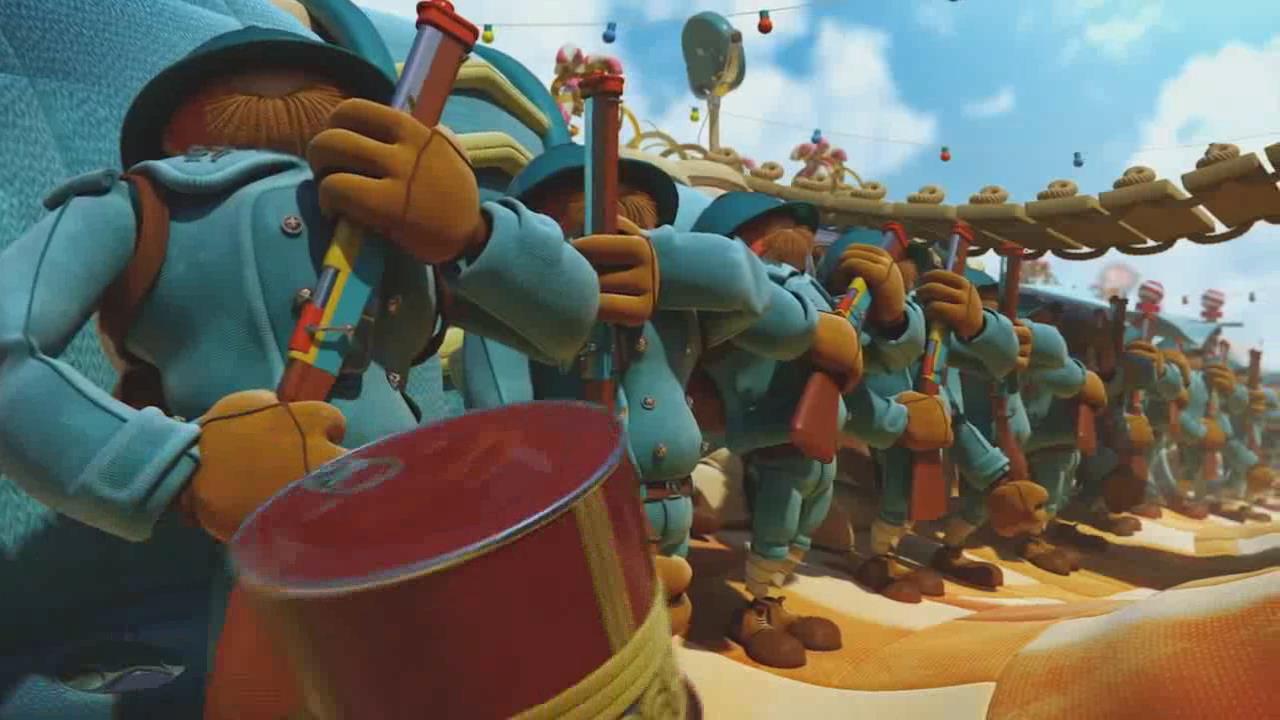 【动画短片】如果战争就像在游乐场玩耍...
