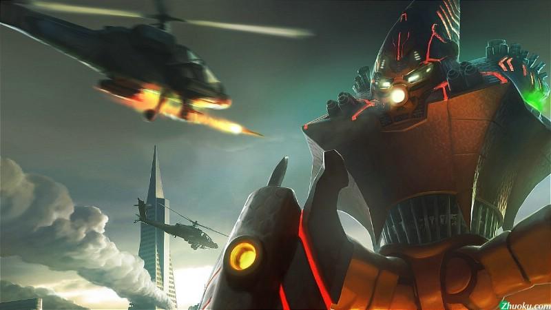 【CG赏析】《宇宙战争 地球突袭战》