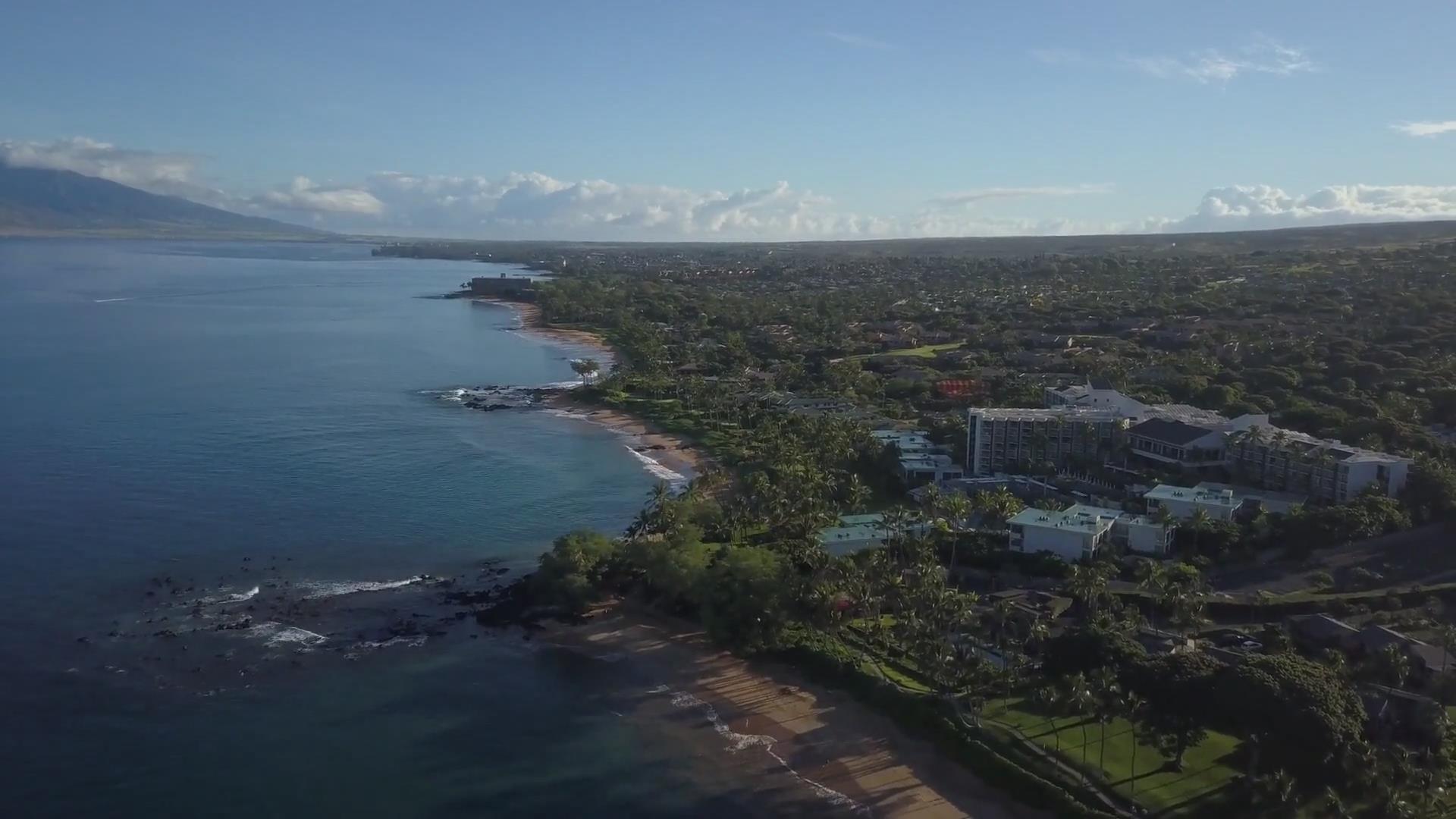 国外4K级风景夏威夷航拍赏析