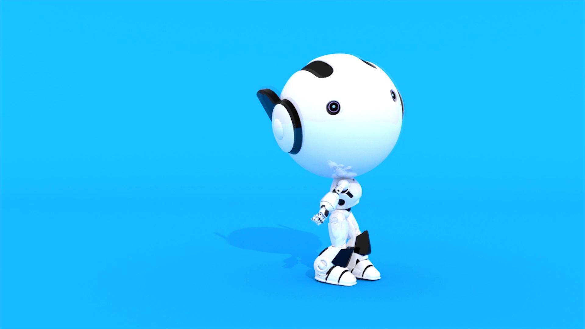 机器人动画展示